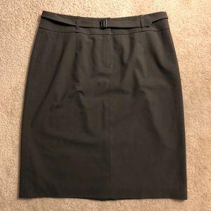 Talbots Petites belted skirt